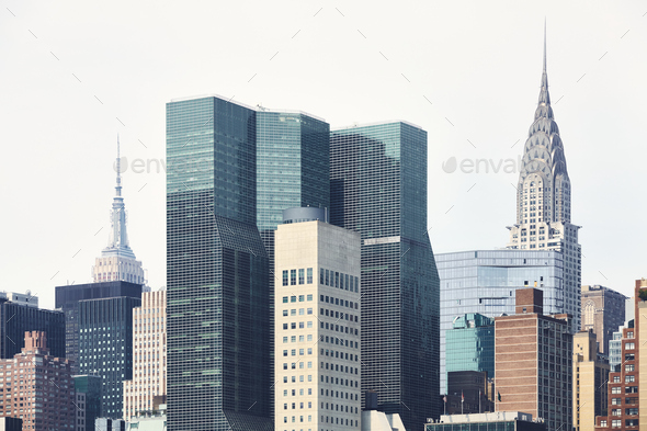 Futuristic city - Stock Photo - Images