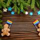 gingerbread men with lgbt flag - PhotoDune Item for Sale