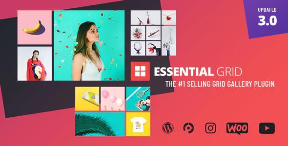 Essential Grid Gallery WordPress Plugin Nulled