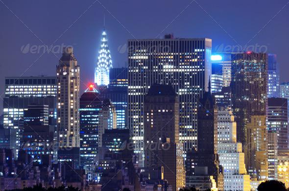Midtown Manhattan - Stock Photo - Images