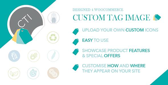 WooCommerce Custom Tag Image