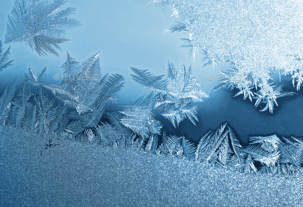 frozen glass - Stock Photo - Images