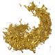 Liquid Gold Splash Spiral 4K - VideoHive Item for Sale