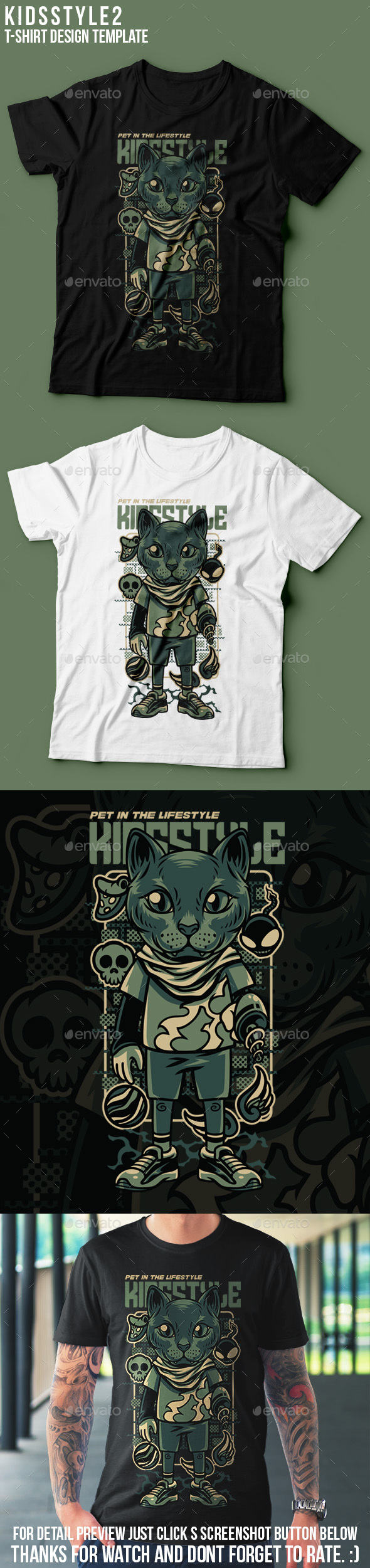 KIds Style 2 T-Shirt Design