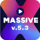 Massive X Presentation Template v.5.3 Fully Animated