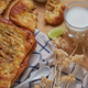 Spice naan bread with sour dipping cream - PhotoDune Item for Sale