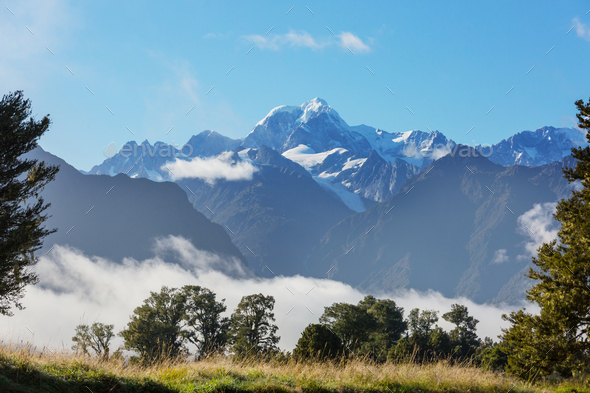 Mt Cook - Stock Photo - Images