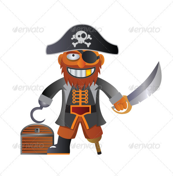 Pirate Captain - People Characters