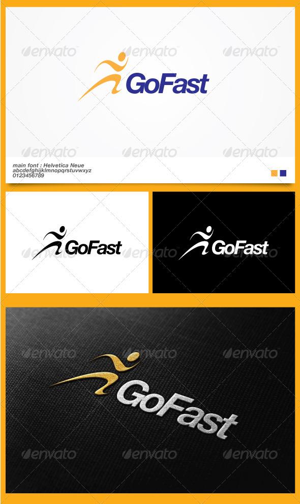 GoFast Logo Template - Symbols Logo Templates