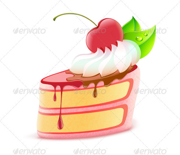 cake dessert  - Food Objects