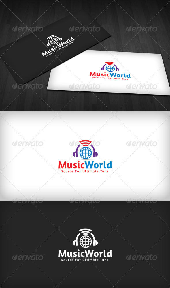 World Music Logo - Symbols Logo Templates