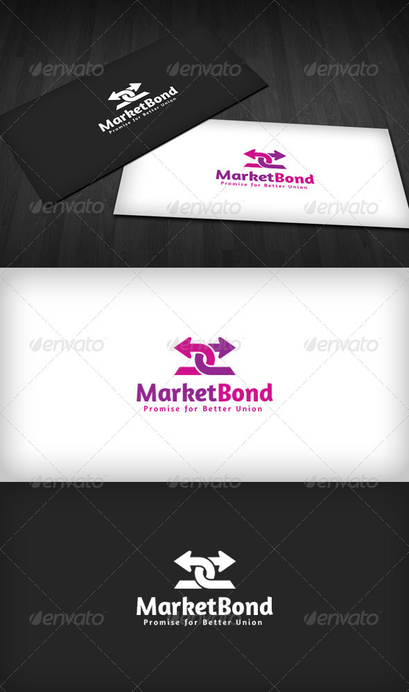 Market Bond Logo - Vector Abstract