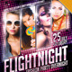 Flight Night Fashion Party Flyer - GraphicRiver Item for Sale