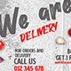 Food Delivery Facebook Covers
