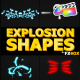 Explosion Shapes | FCPX - VideoHive Item for Sale