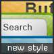 Web 2.0 Buttons With New Style and Search Bars - GraphicRiver Item for Sale