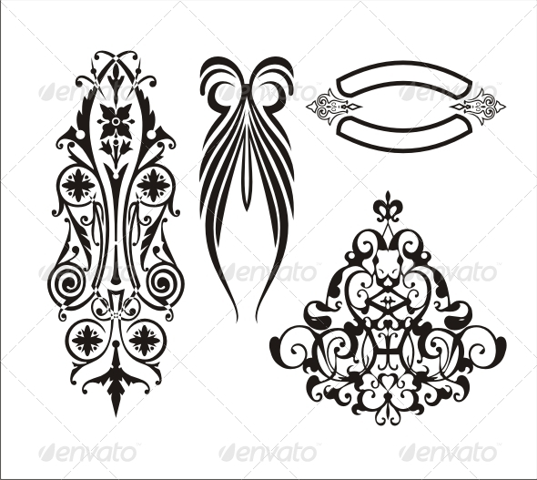 Various Ornaments 2 - Borders Decorative