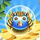 Bubble Shooter Unity Asset Reskin: Pharaoh