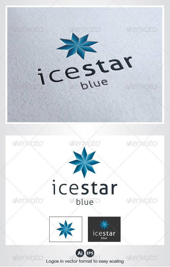 Ice Star Logo - Symbols Logo Templates