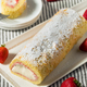 Homemade Frozen Artic Roll Cake - PhotoDune Item for Sale
