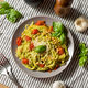 Healthy Homemade Basil Pesto Pasta - PhotoDune Item for Sale