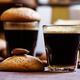 Espresso coffee, amaretti biscuits with almonds, neapolitan coffee maker - PhotoDune Item for Sale