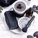 Set of black charcoal detox cosmetics - PhotoDune Item for Sale
