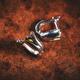 Modern minimalist silver earrings - PhotoDune Item for Sale