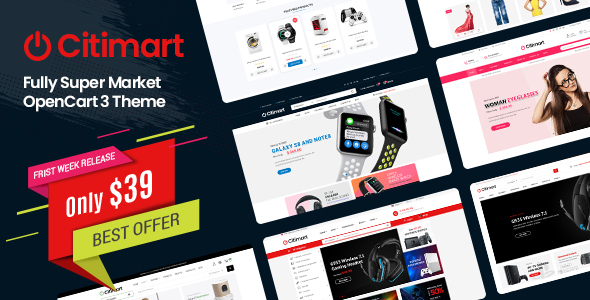 CitiMart – Fully Supermarket OpenCart 3.0.x Theme