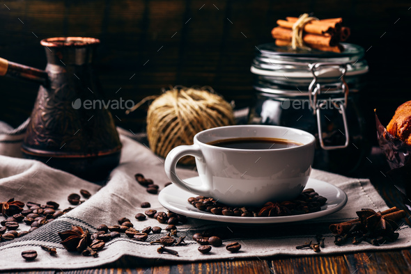 Cup of turkish coffee - Stock Photo - Images