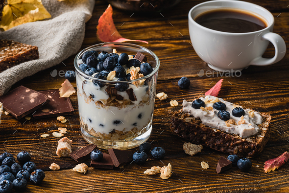 Homemade Healthy Breakfast - Stock Photo - Images