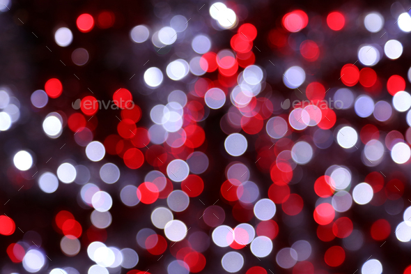 Bright unfocused lights holiday background - Stock Photo - Images