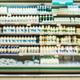 Defocused blur of supermarket shelves - PhotoDune Item for Sale