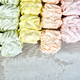 Sweet homemade marshmallow, background from multicolor pastel zephyr - PhotoDune Item for Sale
