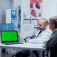 Explaining on green screen - PhotoDune Item for Sale