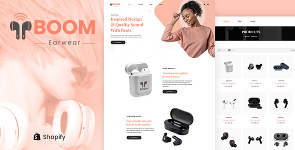 Excellent Boom - One Product Electronics Shopify Theme
