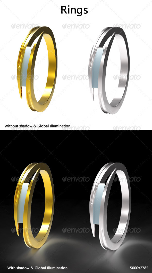 Rings - Objects 3D Renders