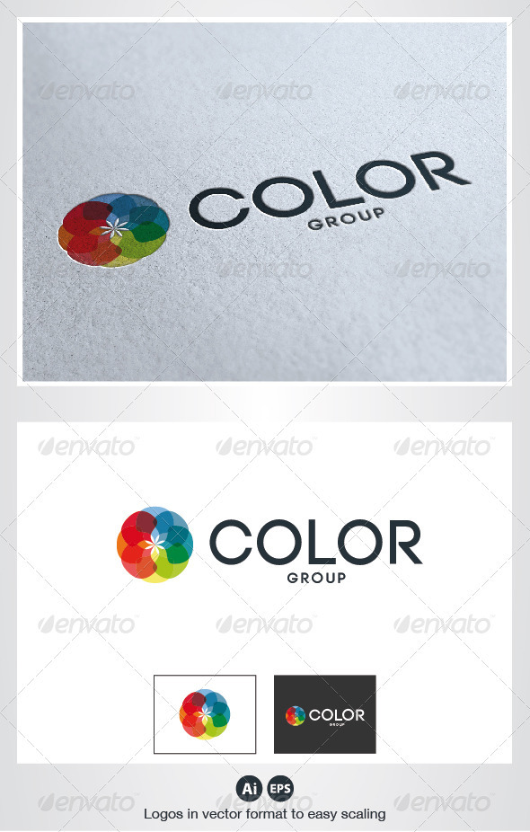 Color Flower Logo - Abstract Logo Templates