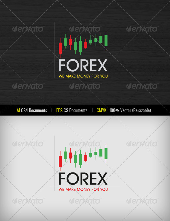 Forex Logo Template - Abstract Logo Templates