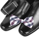Black male shoes, bow tie and belt - PhotoDune Item for Sale