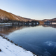 Frozen Lake Rursee At Rurberg, Germany - PhotoDune Item for Sale