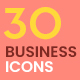 30 Animated Business icons - VideoHive Item for Sale