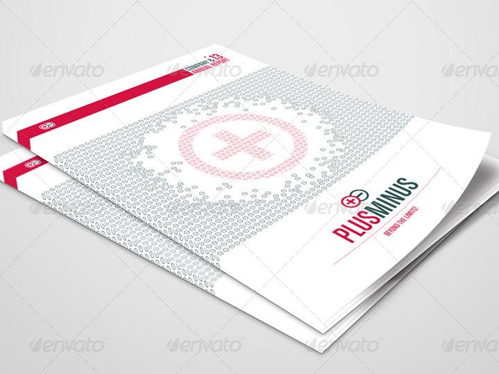 corporate brochure plusminus a4      2 color version by