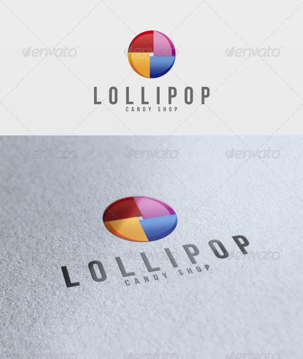 Lollipop Logo - Vector Abstract