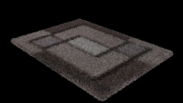 Vray Fur Carpet - 3DOcean Item for Sale