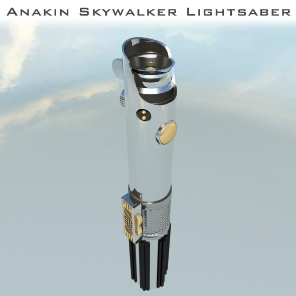 Star Wars: Anakin Skywalker Lightsaber  - 3DOcean Item for Sale