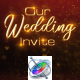 Wedding Invitation Titles - Apple Motion - VideoHive Item for Sale