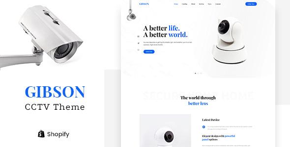 Gibson – Single Product Shop Shopify Theme