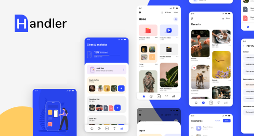 Complete File Manager UI Kit for iOS