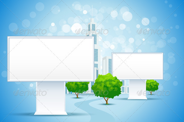Billboard City - Backgrounds Business